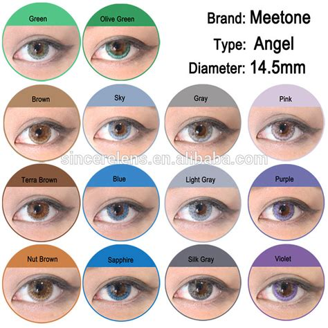 Soft Lens New Look high class brand meetone 3 tone new look contact