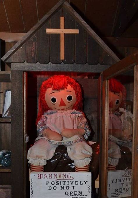 annabelle doll america what it s like to meet annabelle the real haunted