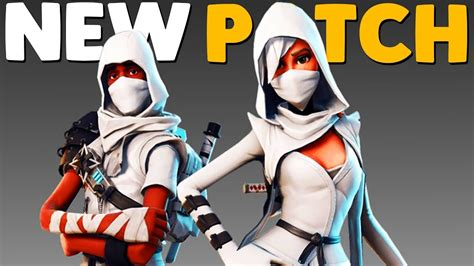 fortnite costumes squad update patch notes fortnite battle royale