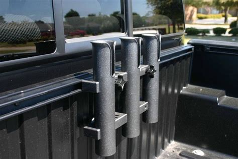 rod holder for truck bed fishing rod holder without bed rail system tacoma world