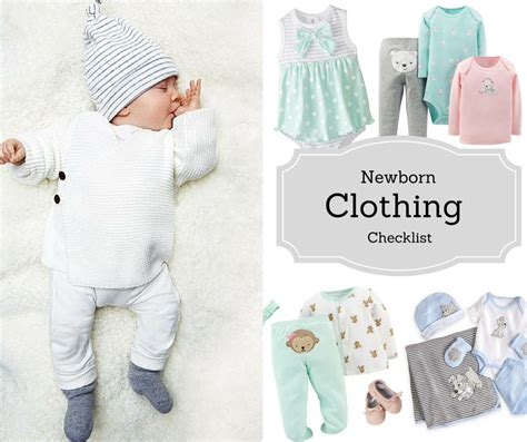 and baby clothes what newborn baby clothes you need checklist s