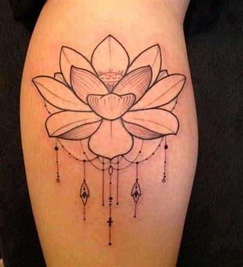 tattoo lotus simple lotus tattoo simple design tattoos pinterest black
