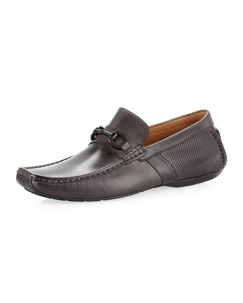 magnanni loafer magnanni antracita loafer in brown for null lyst