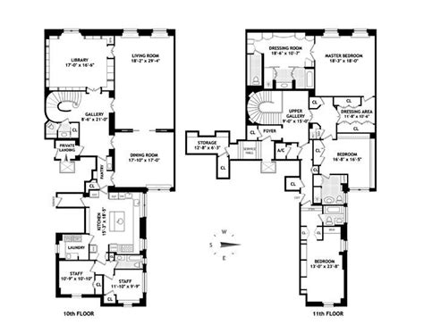 960 Fifth Avenue Floor Plan | image from https www manhattanscout com sites default