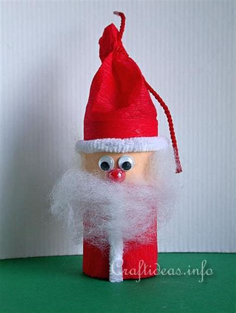 santa claus paper craft 31 easy and craft ideas for