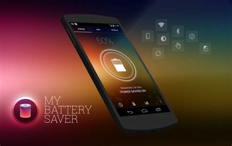 android battery saver my battery saver is a battery saving app with sweet ui the android soul