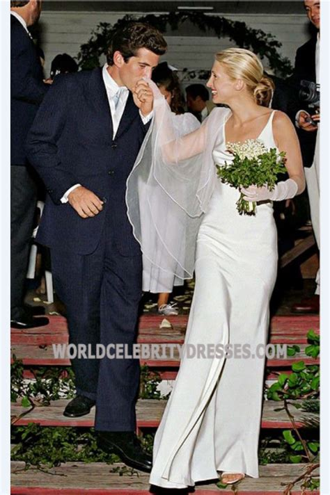 carolyn bessette kennedy wedding carolyn bessette kennedy simply gorgeous celebrity wedding