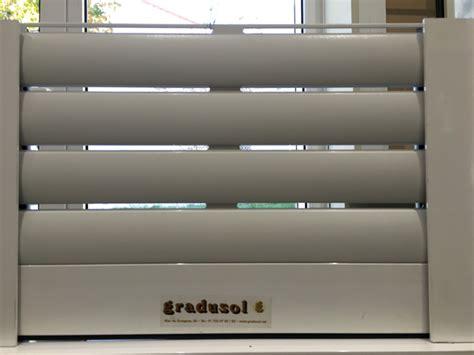 persianas exteriores enrollables persiana enrollable de aluminio t 233 rmico perforada