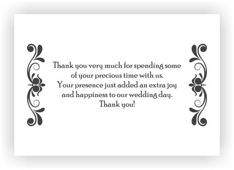 8 thank you note for gift 8 free sample example format