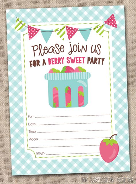instant printable birthday invitations ink obsession designs lots of new instant download fill