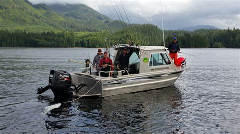 fishing cabin rentals with boat alaska fishing lodge chinook shores adds four 21 silver