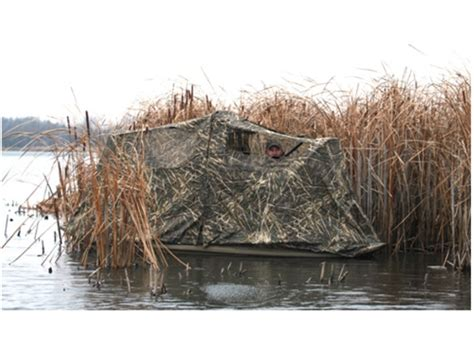 Duck Hunting Pit Blinds Beavertail Stealth 1200 2000 Boat Blind Nylon Realtree