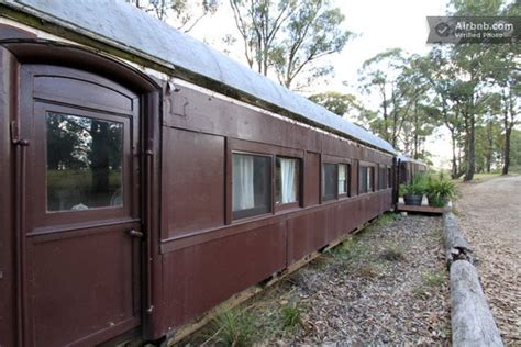 Two Trains Reclaimed And Converted Into A Home In Tiny House Builders In Australia