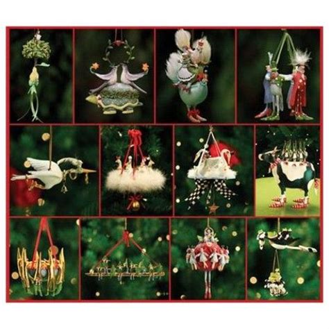 the 12 days of christmas tree ornaments