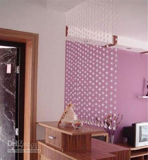 bathroom door curtain hanging crystal curtains