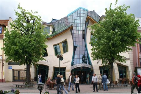 crooked house crooked house in sopot poland is like a children s book