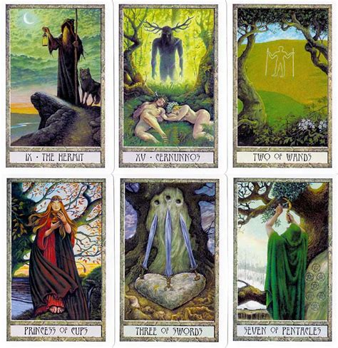 the druid craft tarot druidcraft tarot le tarot des druides page 2