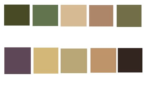 what colors are earth tones color swatches from adobe kuler planet earth terrain top