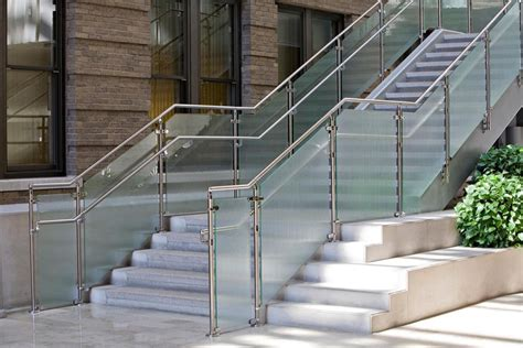 stainless steel banisters stainless steel railings vs wooden railings