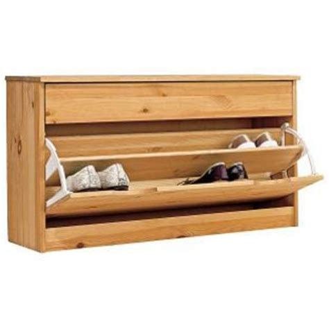 Ready Made Shoe Rack by Fold Shoe Storage Cabinet Solid Pine Ready To Stain
