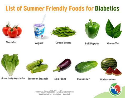 vegetables a diabetic can eat list of summer friendly foods for diabetics health tips