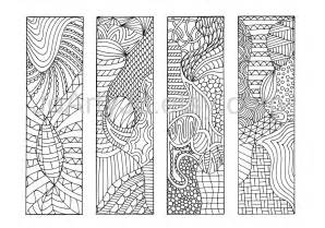 coloring bookmarks zendoodle pdf bookmarks to print zentangle inspired
