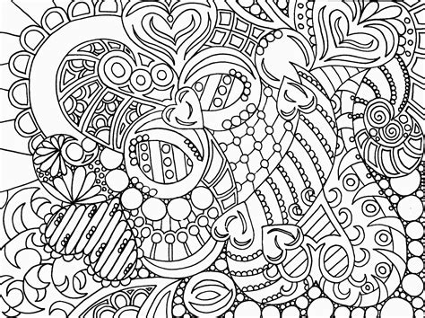 abstract art hd coloring pages for adult