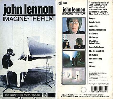 john lennon biography documentary john lennon imagine the film japanese promo video vhs