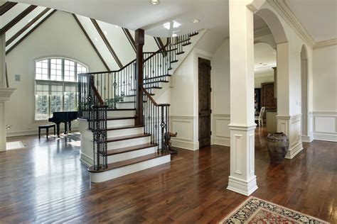 Staircase Ideas Near Entrance 45 Custom Luxury Foyer Interior Designs