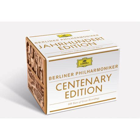 Berliner Philharmoniker Recordings by Berliner Philharmoniker 100 Years Of Great Recordings