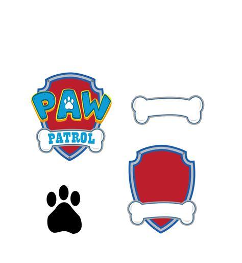 paw patrol nada es paw patrol svg vector logo digital download dxf svg eps