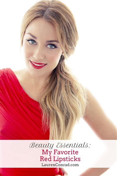 Decorate Pencil Box by Beauty Essentials My Favorite Red Lipsticks Lauren Conrad