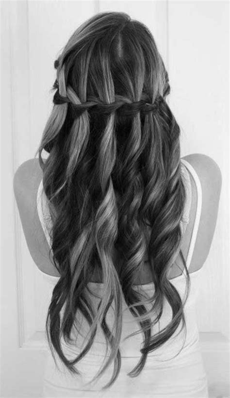long hairstyles braids curls 25 long hair with curls long hairstyles 2016 2017