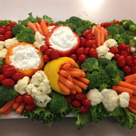 25 best ideas about vegetable tray display on