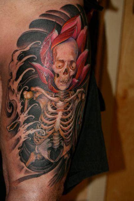 lotus tattoo jeff gogue untitled by jeff gogue tattoos
