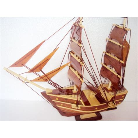 handmade wood model ship 11 8 handmade sail boat