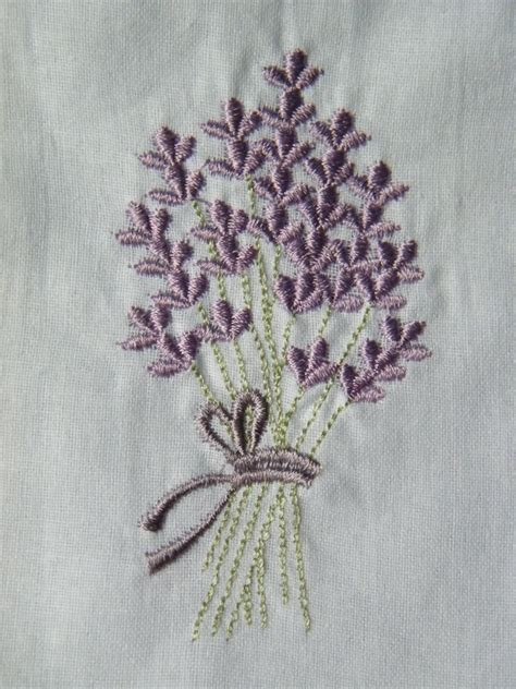 Bloom Box Lavender Preserved Flower Uk 10 X10 Cm Beautiful Embroidered Bag Empty X10 Daisyshop For Dried Flowers