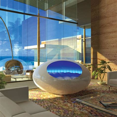 bed pod the tranquility pod hammacher schlemmer