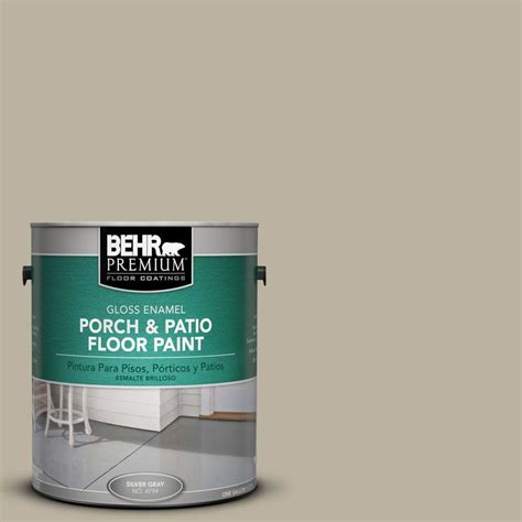 behr premium 1 gal pfc 63 slate gray gloss porch and