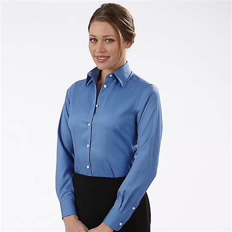 womens dress shirts van heusen non iron dress shirts 13v0144 womens non iron