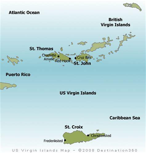 usvi map usvi map us islands map