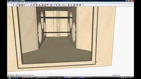 ram design ram designs bandpass box design 6x 18 quot woofers