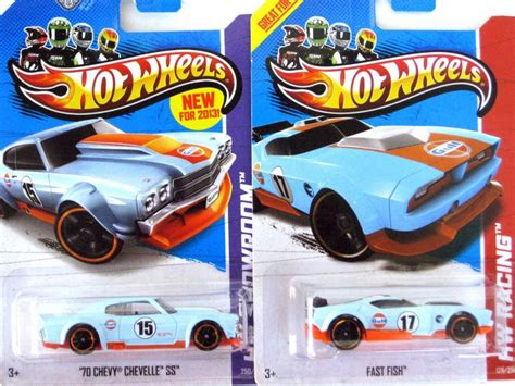 Hotwheels 12 Ford Th Reguler Treasure Hunt Hotwheel Wheels wheels 2 gulf racer 2013 secret treasure hunt fast