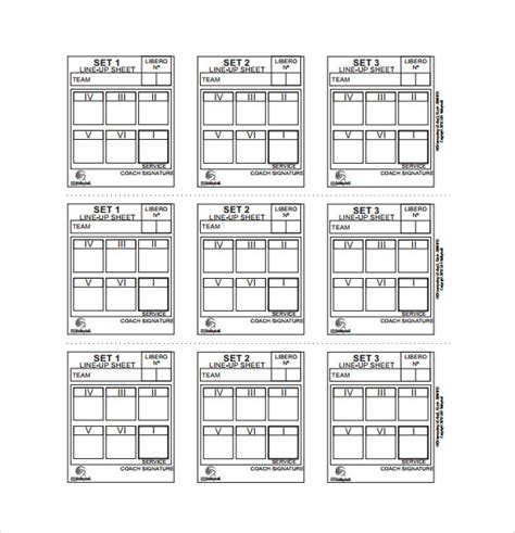 Line Sheet Templates by 10 Line Sheet Templates Free Sle Exle Format
