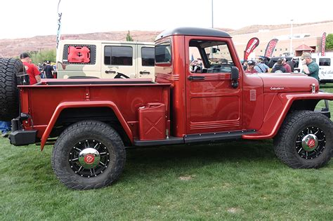 Jeep 55 S a s challenge 55 willys truck wows moab