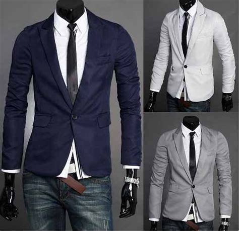 combinaciones con saco blanco de hombre ropa casual hombre con saco