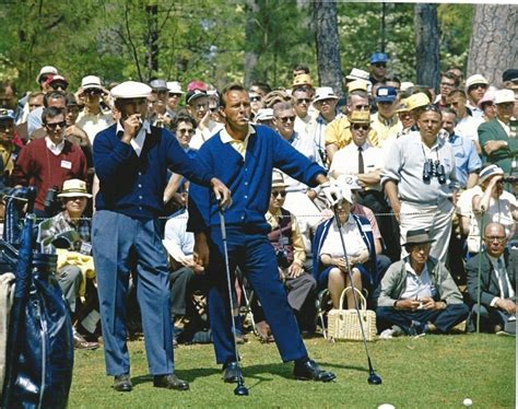 ben hogan swing thoughts arnold palmer is still miffed at how ben hogan talked down