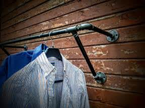 heavy duty wall mounted clothes rack wall mounted clothes