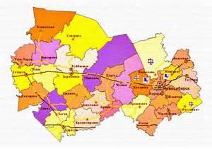 карта тульской области по районам подробная