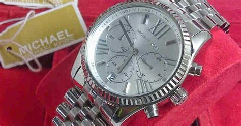 Guess Daun Fullsilver Chain Jpg ginda collection new jam tangan michael kors mk 5555